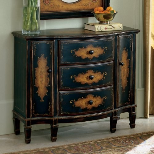 Hand Painted Kitchen Cabinets: Butler Console Cabinet