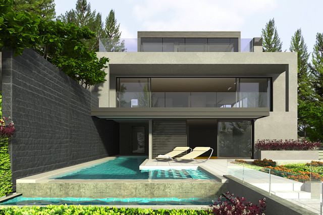 jessop architects contemporary-pool