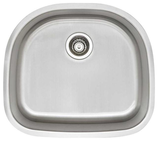 Blanco 441530 Stainless Steel STELLAR D Single Bowl - Traditional ...