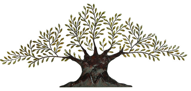Casa Cortes Tree Of Peace Large 94-Inch Metal Wall Art
