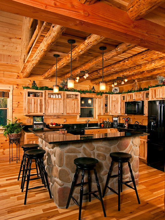 Rustic furniture for client's (upscale!) cabin -