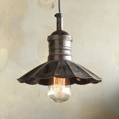 VERDIGRIS PENDANT LIGHT modern-pendant-lighting