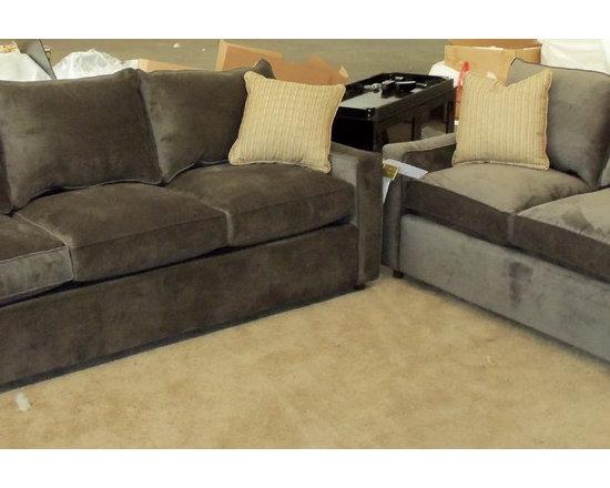 Customer Custom Orders - Rowe Monaco Sofa and Loveseat