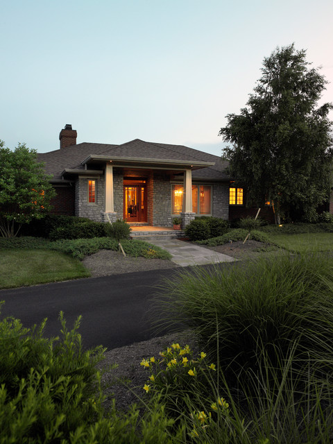 Crawford Home & Office traditional-exterior