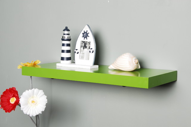 Floating wall shelf casual cottage Modern floating wall shelves
