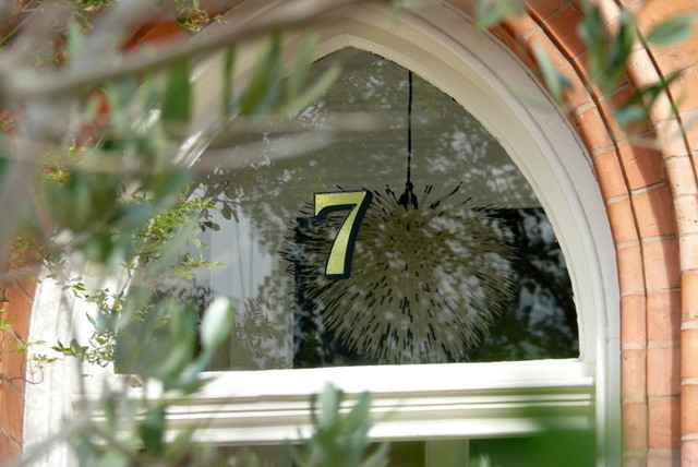 Gold House Numbers traditional-front-doors