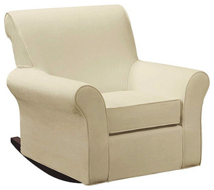 Dorel Rocking Chair and Ottoman - Traditional - Rocking Chairs - by ...