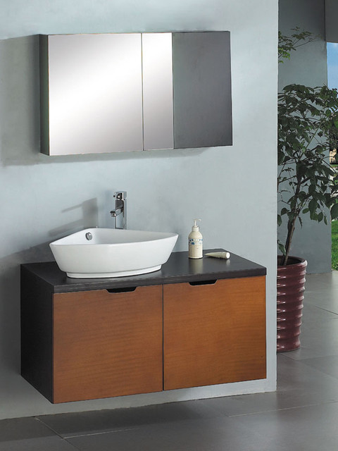 Ariel A-013 - Stardust 39 Wall Mounted Bathroom Vanity - modern ...