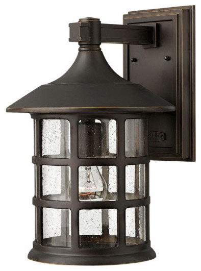 Wall Sconce Porch Lights : Hinkley Lighting 1805OZ-LED Freeport Bronze Outdoor Wall Sconce - Craftsman - Outdoor Wall ...
