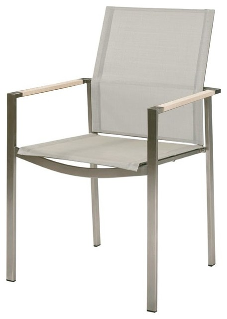 Barlow Tyrie - Mercury Armchair -Graphite/Pearl modern-outdoor-lounge-chairs