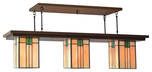 Mission Style Lighting Bungalow Chandelier 407
