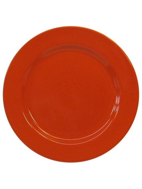 Waechtersbach Fun Factory II Orange Salad Plates, Set of 4 -