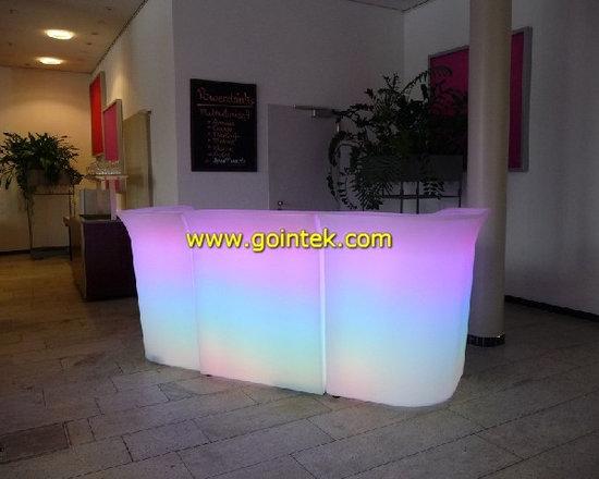 illuminate LED plastic bar furniture -