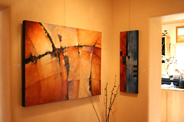 Art in homes contemporary oklahoma city by mark yearwood contemporary art