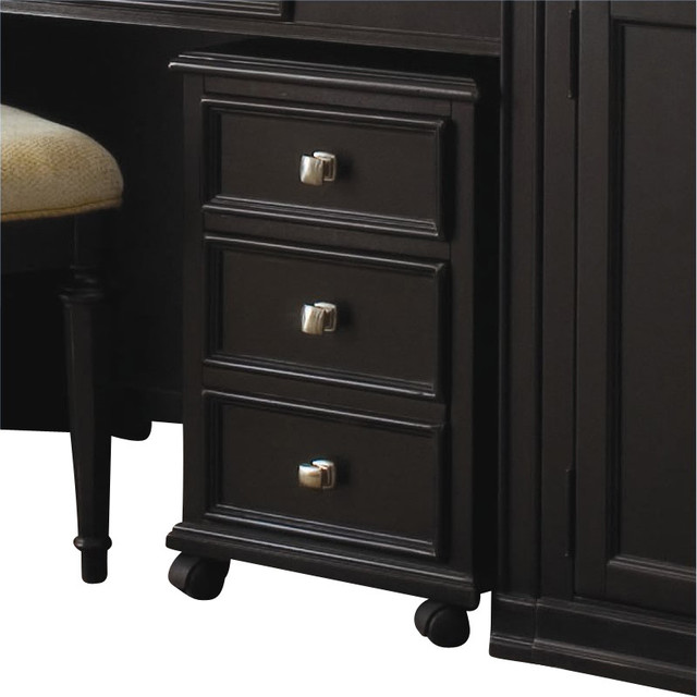 American Drew Camden Black File Cabinet - Transitional - Filing Cabinets - other metro - by Cymax