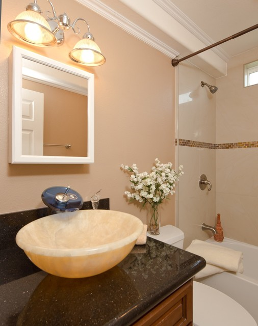 AccentPositives Home Staging traditional-bathroom