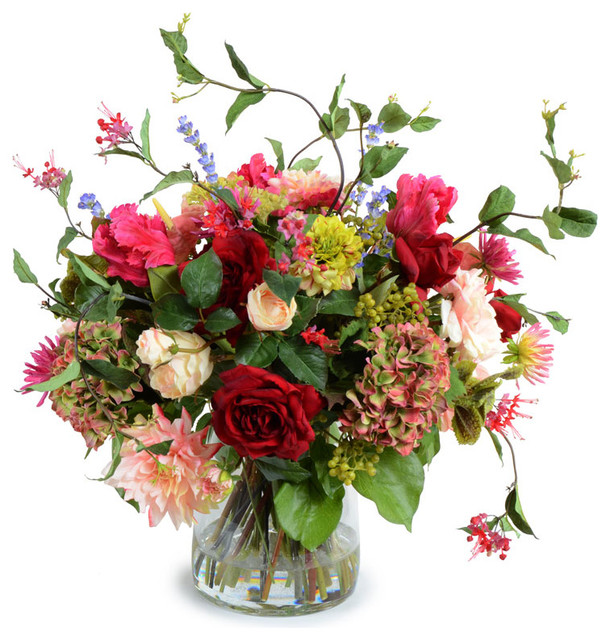 Mixed Flower Bouquet Arrangement Contemporary