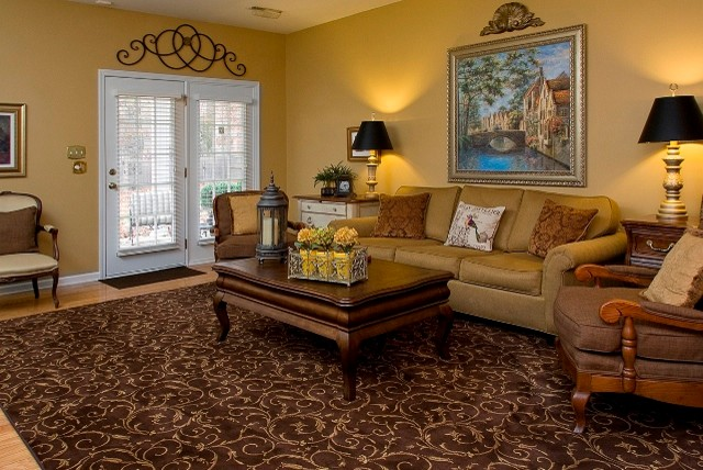 Gold And Brown Living Room Ideas