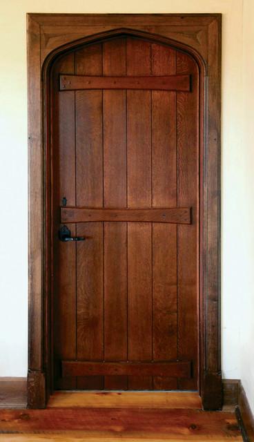 English Board & Batten Door