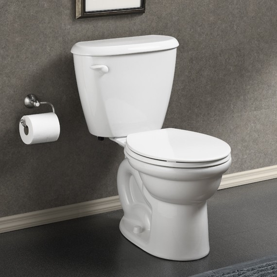 American Standard Colony FitRight Round Toilet 10u0026quot; Rough - Toilets - new york - by ExpressDecor