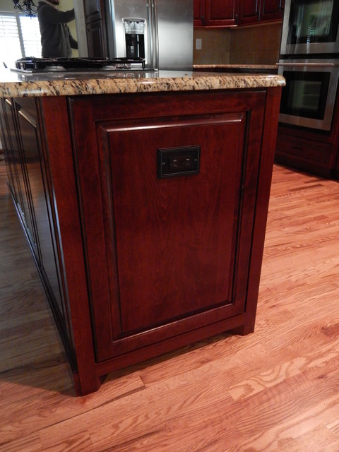 Cabinet Reface - Traditional - Kitchen Islands And Kitchen Carts - denver - by Custom Classic ...