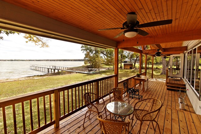 Back Porch traditional-deck