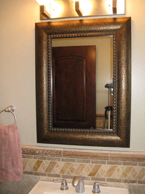 mirror frame kit traditional bathroom mirrors salt lake city