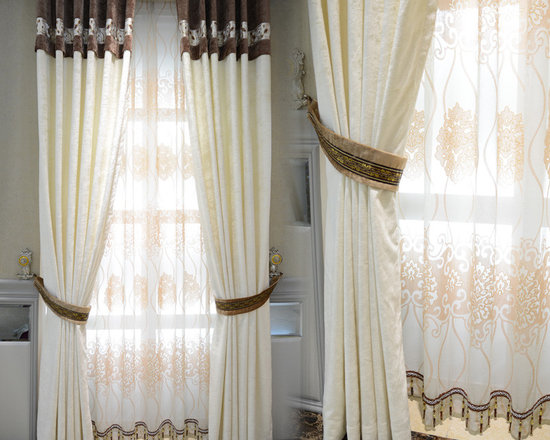 Customized Curtains in White Color - at least 50% off market price