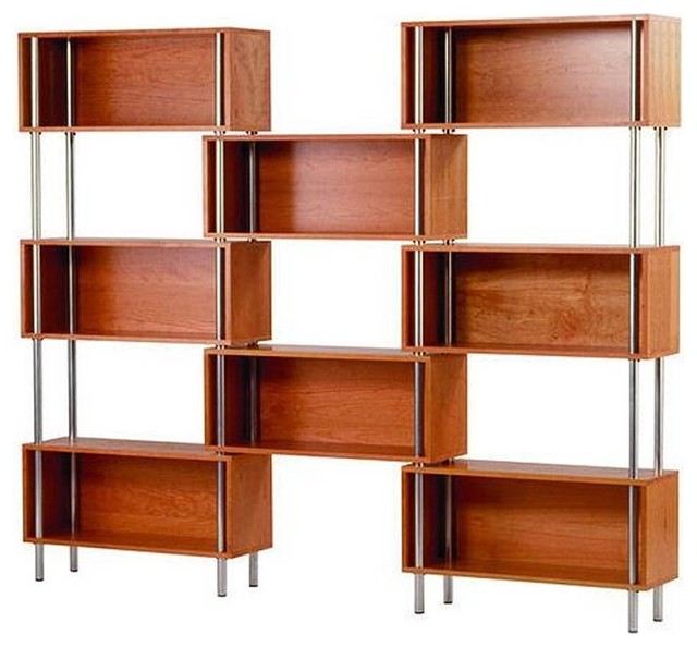 Blu Dot - Chicago 8 Box Shelving Unit modern bookcases cabinets and computer armoires