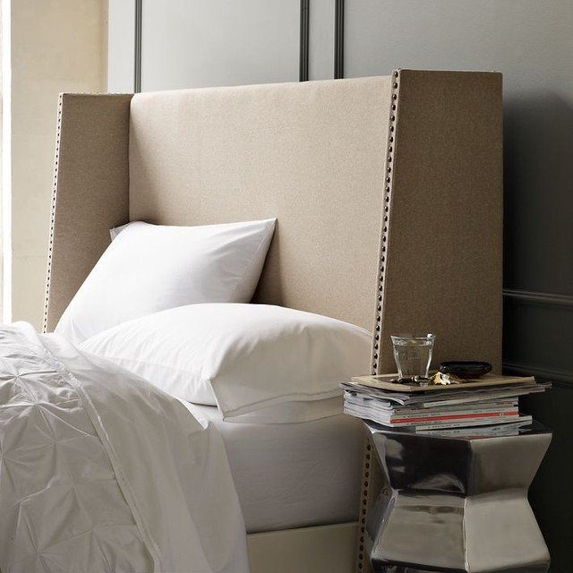 modern headboards by West Elm