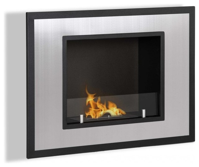 Wall Mount Ventless Ethanol Fireplace Bellezza Mini