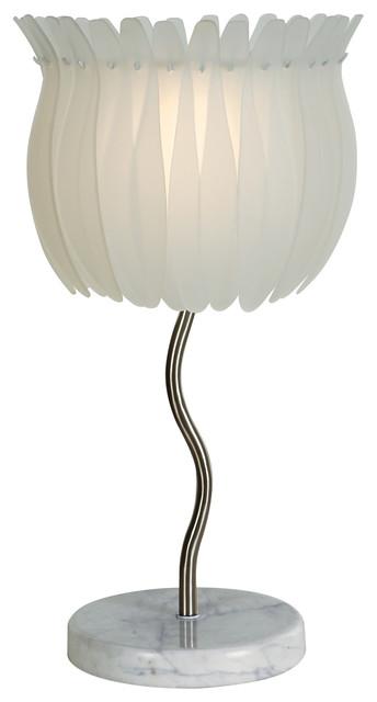 Trend Lighting TT6962 Lotus Table Lamp modern-table-lamps