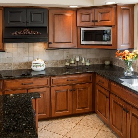 Victorian kitchen cabinet refacing traditional kitchen for Kitchen cabinet refacing