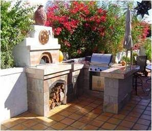 Pizza Oven_outdoor kitchen, by Renato contemporary-ovens