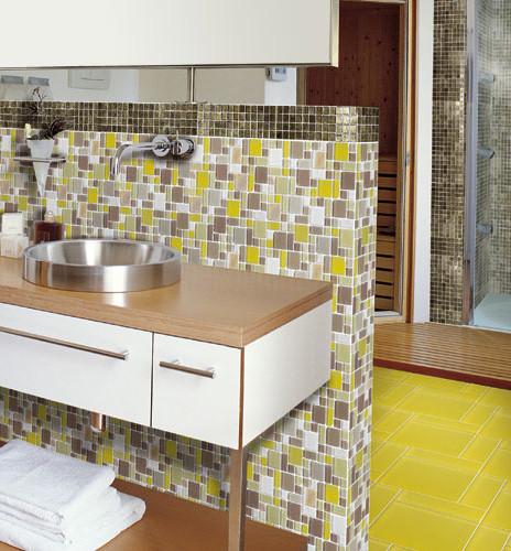 Villiglas - Lime eclectic-bathroom