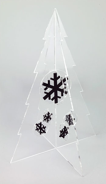 modern holiday decorations by The Modern Christmas Tree