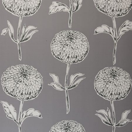 Dahlia Wallpaper by Clarke & Clarke modern wallpaper