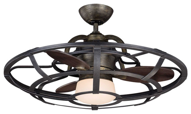 Cool Ceiling Fans! - Rustic - Ceiling Fans - phoenix - by Valley Light ...