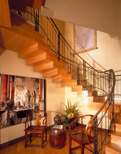 Stairway asian