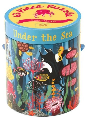 Under the Sea 63 Piece Puzzle modern kids products
