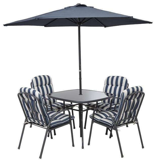 Colorado 4 Seater Furniture Set Contemporary Outdoor
