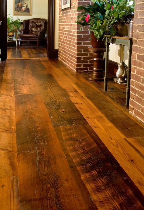 Distressed Wood Flooring and Reclaimed Wood Flooring from Carlisle Wide Plank Floors
