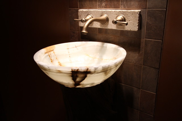 Bathroom Basin Bowls : Onyx Vessel Bowl Sink - Modern - Bathroom Sinks - cleveland - by ...