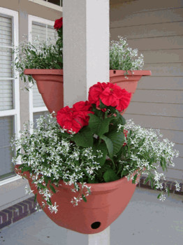 Plant Around Corner Planter traditional-outdoor-pots-and-planters
