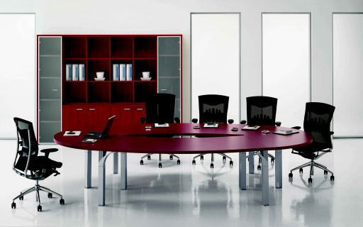 Palm Stylish Meeting Table By DV Office modern-desk-accessories