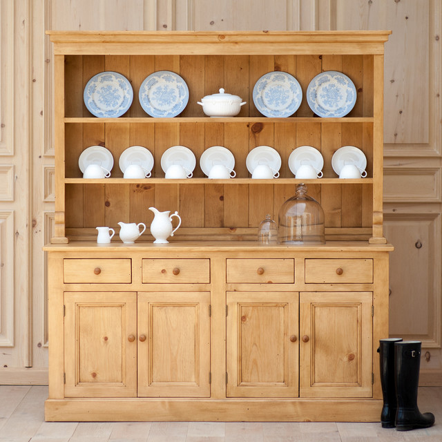 Cottage Open Hutch - Traditional - China Cabinets And Hutches - new york - by Coach Barn