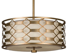 Allegretto 787540 Drum Pendant modern-pendant-lighting