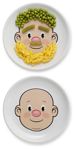 Mr. Food Face Plate eclectic kids products