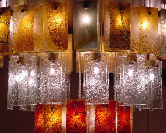 Fields - Beautiful fields of light with our art glass Drops of light.