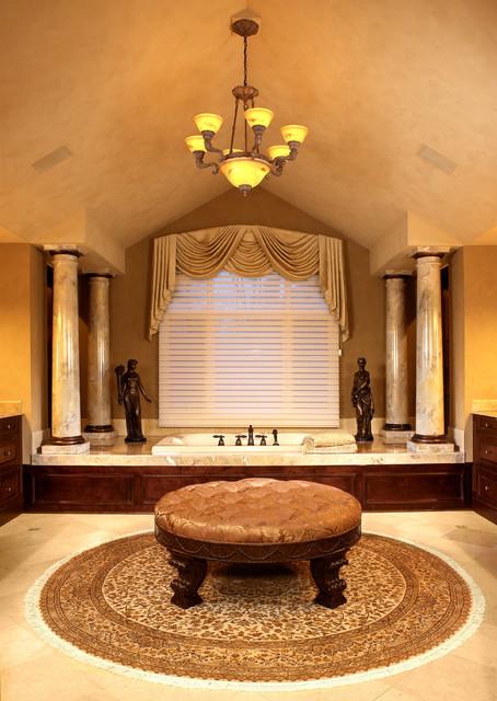 Old World Elegance traditional-bathroom